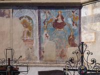 Friedhof Pfarrkirche Mari&auml; Himmelfahrt in Imst, Tirol, &Ouml;sterreich, Europa<br /> Cemetery, parish  church of the Assumption of Mary, Imst, Tyrol, Austria, Europe