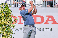 Scott Stallings (USA) watches his tee shot on 17 during round 1 of the Honda Classic, PGA National, Palm Beach Gardens, West Palm Beach, Florida, USA. 2/23/2017.<br /> Picture: Golffile | Ken Murray<br /> <br /> <br /> All photo usage must carry mandatory copyright credit (&copy; Golffile | Ken Murray)