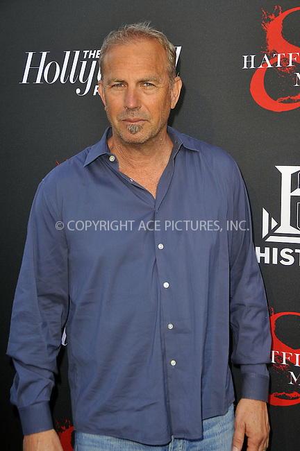 WWW.ACEPIXS.COM . . . . .  ....May 21 2012, LA....Actor Kevin Costner at a special screening of 'Hatfields & McCoys' hosted by The History Channel at Milk Studios on May 21, 2012 in Hollywood, California. ....Please byline: PETER WEST - ACE PICTURES.... *** ***..Ace Pictures, Inc:  ..Philip Vaughan (212) 243-8787 or (646) 769 0430..e-mail: info@acepixs.com..web: http://www.acepixs.com
