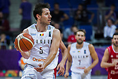 7th September 2017, Fenerbahce Arena, Istanbul, Turkey; FIBA Eurobasket Group D; Belgium versus Serbia; Point Guard Sam Van Rossom #5 of Belgium in action during the match