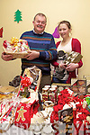 Family Affair: Father and daughter duo Pierce and Jennifer Walsh from John R's Listowel at the Annual Christmas Food & craft fair held last Suday in Asdee community centre in aid of Asdee Daisy Chains Preschool