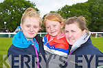 Denise Holly and Clodagh Holly-McCarthy Ballybunion with Michelle Brosnan Moyvane enjoying the Castleisland Races on Sunday