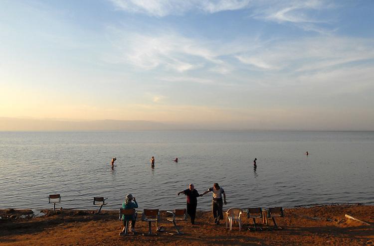 Paesaggi del mondo. Il Mar Morto in Giordania.