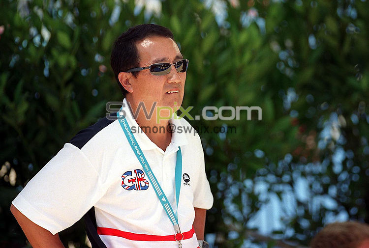 Pix: Matthew Lewis/SWpix.com. Diving. 10th Fina World Championships 2003, Barcelona. 20/07/2003...COPYRIGHT PICTURE>>SIMON WILKINSON>>01943 436649>>..Great Britain's Wen Chen.