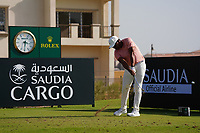 Jonathan Vegas (VEN) on the 11th during Round 1 of the Saudi International at the Royal Greens Golf and Country Club, King Abdullah Economic City, Saudi Arabia. 30/01/2020<br /> Picture: Golffile | Thos Caffrey<br /> <br /> <br /> All photo usage must carry mandatory copyright credit (© Golffile | Thos Caffrey)