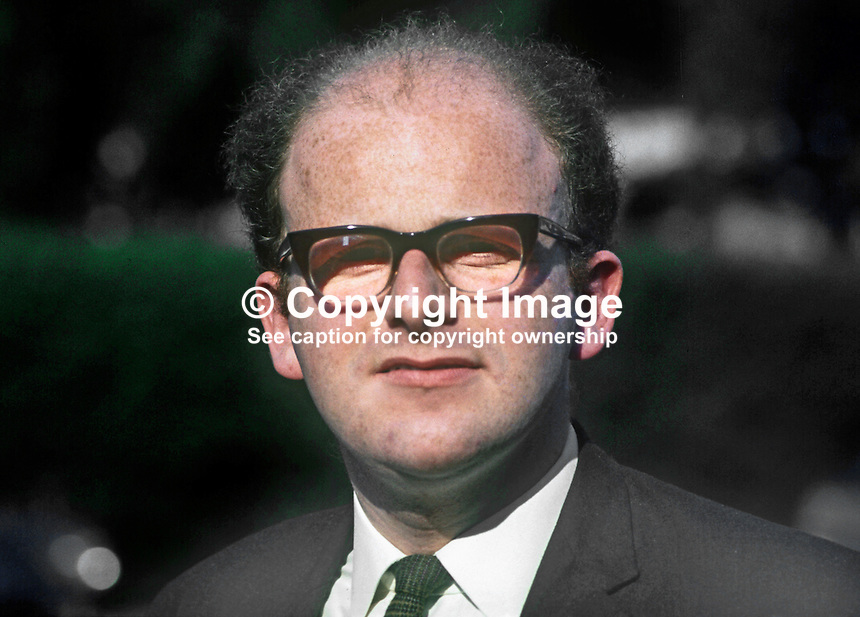 Rodney Smith, candidate, South Antrim, N Ireland, for Liberal Party in UK General Election 18th June 1970. 197006000224b<br /> <br /> Copyright Image from Victor Patterson,<br /> 54 Dorchester Park, Belfast, UK, BT9 6RJ<br /> <br /> t1: +44 28 90661296<br /> t2: +44 28 90022446<br /> m: +44 7802 353836<br /> <br /> e1: victorpatterson@me.com<br /> e2: victorpatterson@gmail.com<br /> <br /> For my Terms and Conditions of Use go to<br /> www.victorpatterson.com