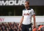 Harry Kane during the English Premier League match at the White Hart Lane Stadium, London. Picture date: April 15th, 2017.Pic credit should read: Chris Dean/Sportimage