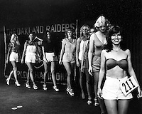Try outs for the 1979 Oakland Raiderettes...<br />(photo 1979 by Riesterer)