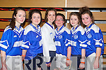 Pictured are the Annascaul u15 girls indoor soccer team on Sunday last were l-r: Chloe Kennedy, Nell O'Connor, Kate Kennedy, Aoife Falvey and Clodagh O'Connor.