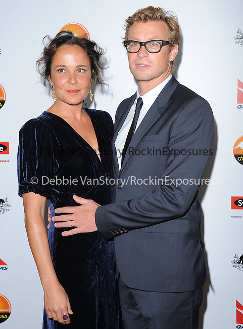 Simon Baker at The G'Day USA Black Tie Gala held at The JW Marriot at LA Live in Los Angeles, California on January 12,2013                                                                   Copyright 2013 Hollywood Press Agency