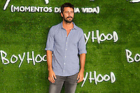 "Hugo Silva attend the photocall of the Premiere of the movie ""Boyhood"" at the Cineteca in Madrid, Spain. September 09, 2014. (ALTERPHOTOS/Carlos Dafonte)"
