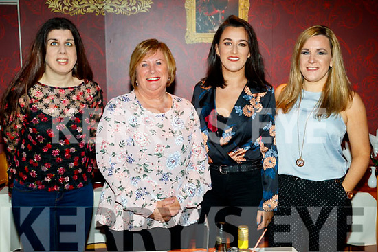 Therese, Bernie, Niamh and Jennifer O'Carroll, pictured at Ristorante Uno, on Saturday night last, as they were celebrating Therese and Jennifer's birthday and Niamh who passed her driving test.