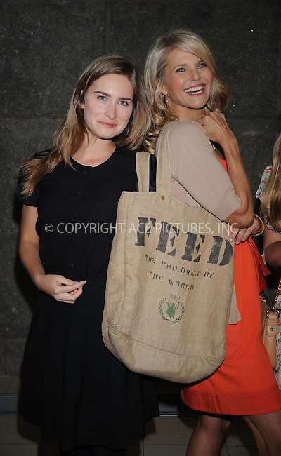 WWW.ACEPIXS.COM . . . . . ....April 14 2009, New York City....Models Christie Brinkley (R) and Lauren Bush at the 2nd Annual Luncheon and Education Panel To Benefit NOFA-NY (Northeastern Organic Farming Association Of New York) at Guastavino's on April 14 2009 in New York City. ....Please byline: KRISTIN CALLAHAN - ACEPIXS.COM.. . . . . . ..Ace Pictures, Inc:  ..tel: (212) 243 8787 or (646) 769 0430..e-mail: info@acepixs.com..web: http://www.acepixs.com