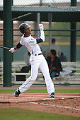 Ali La Pread (11) of Norcross High School in Norcross, Georgia during the Under Armour All-American Pre-Season Tournament presented by Baseball Factory on January 14, 2017 at Sloan Park in Mesa, Arizona.  (Art Foxall/Mike Janes Photography)