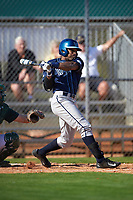 Villanova Wildcats right fielder Donovan May (26) at bat during a game against the Dartmouth Big Green on February 27, 2016 at South Charlotte Regional Park in Punta Gorda, Florida.  Villanova defeated Dartmouth 14-1.  (Mike Janes/Four Seam Images)
