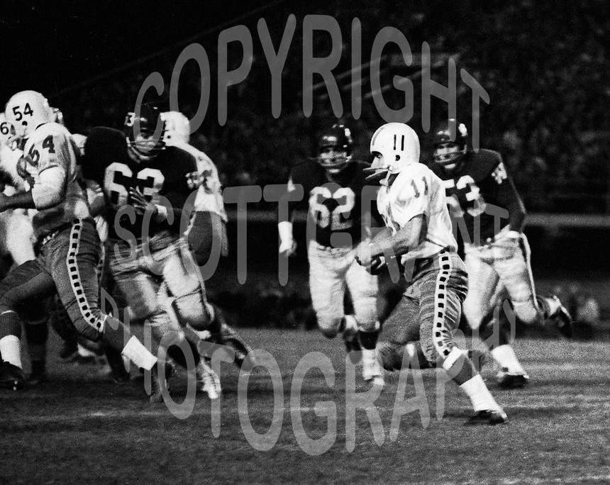Ron Stewart Ottawa Rough Riders 1962. Photo Ted Grant