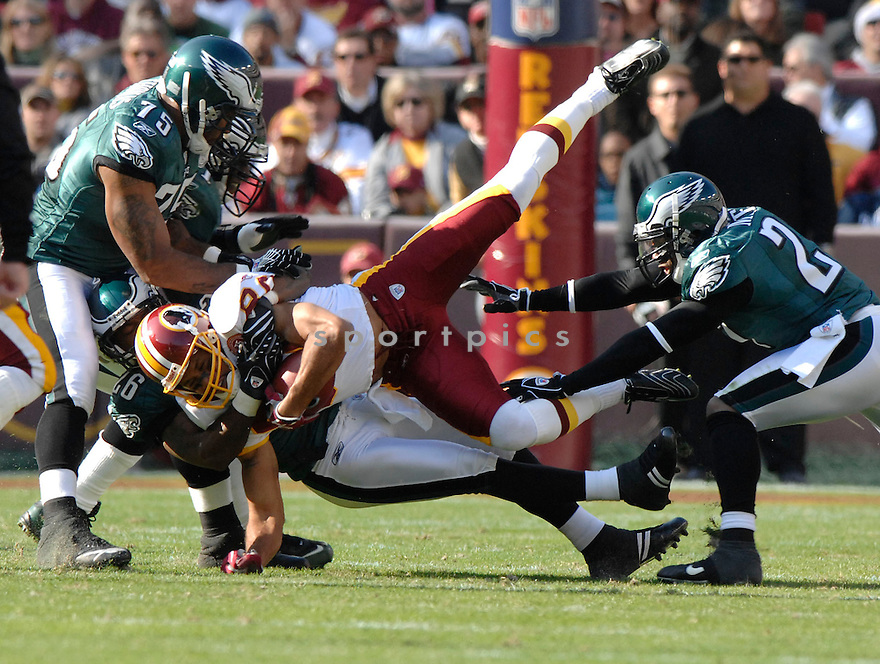 KEENAN MCCARDELL, of the Washington Redskins in action during the Redskin game against the Philadelphia Eagles on November 11, 2007 in Landover, Maryland...Eagles  win 33-25..SportPics