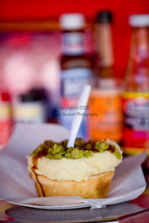 Harry's Cafe de Wheels,an Australian icon serving meat pies and mush peas to tourists, celebrities and locals.