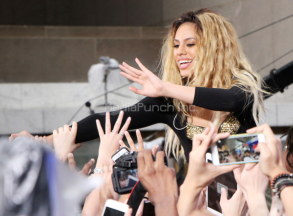 NEW YORK, NY-May 30:  Dinah Jane Hansen of Fifth Harmony perform at Citi Concert Series on Today Show  in New York. NY May 30, 2016. Credit:RW/MediaPunch