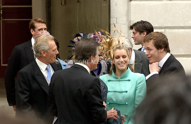 WWW.ACEPIXS.COM . . . . .  ... . . . . US SALES ONLY . . . . .....WINDSOR, APRIL 9, 2005....Laura and Tom Parker Bowles arriving for Princes Charles' wedding to Camilla Parker Bowles at Windsor Town Hall. ....Please byline: FAMOUS-ACE PICTURES-P. POPE... . . . .  ....Ace Pictures, Inc:  ..Craig Ashby (212) 243-8787..e-mail: picturedesk@acepixs.com..web: http://www.acepixs.com