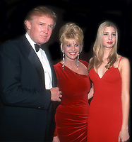 Donald Trump Ivana Trump Ivanka Trump<br /> 1998<br /> Photo By John Barrett/PHOTOlink