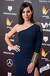 Nerea Garmendia attends red carpet of Feroz Awards 2018 at Magarinos Complex in Madrid, Spain. January 22, 2018. (ALTERPHOTOS/Borja B.Hojas)