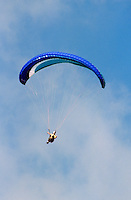 Para-gliders at Elings Park Santa Barbara, CA, California