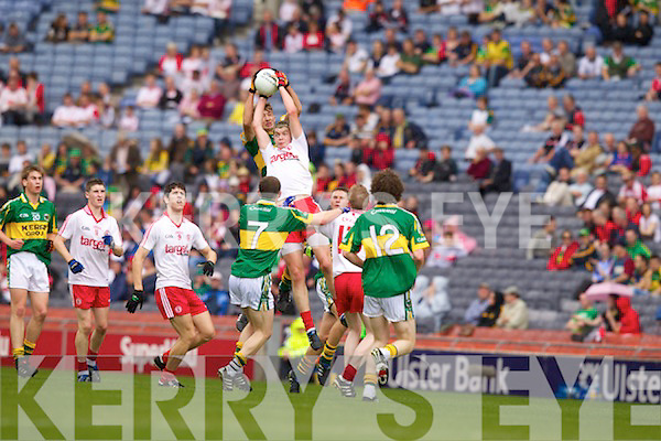 Kerry  Minor team v Tyrone Minor Team in the Minor All Ireland Quarter Final in Croke Park Dublin on Saturday July 31st