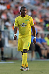 01 August 2015: Tampa Bay's Darnell King. The Carolina RailHawks hosted the Tampa Bay Rowdies FC at WakeMed Stadium in Cary, North Carolina in a North American Soccer League 2015 Fall Season match. The game ended in a 1-1 tie.