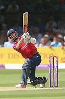 James Foster hits four runs for Essex during Essex Eagles vs Notts Outlaws, Royal London One-Day Cup Semi-Final Cricket at The Cloudfm County Ground on 16th June 2017