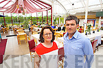 Owners of Ballyseedy Home & Gardens Bernie Falvey and Nathan McDonnell.