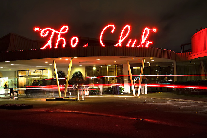 """Birmingham's """"The Club"""" on a busy night."""