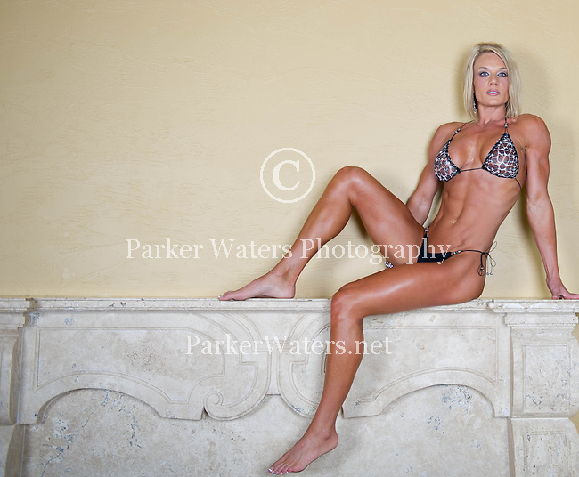 Select images from a recent photo shoot with a fitness competitor and model.  One week following this shoot, she captured first in her division.