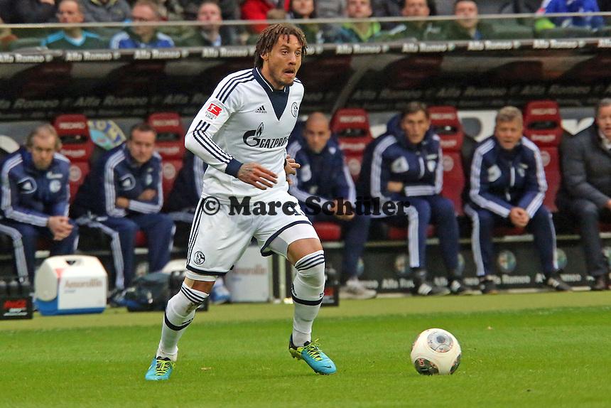 Jermaine Jones (Schalke) - Eintracht Frankfurt vs. FC Schalke 04, Commerzbank Arena