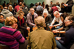 Participants take part in the Veteran-Civilian Dialogue at Intersections International on February 4, 2011 in New York City.  (PHOTOGRAPH BY MICHAEL NAGLE)