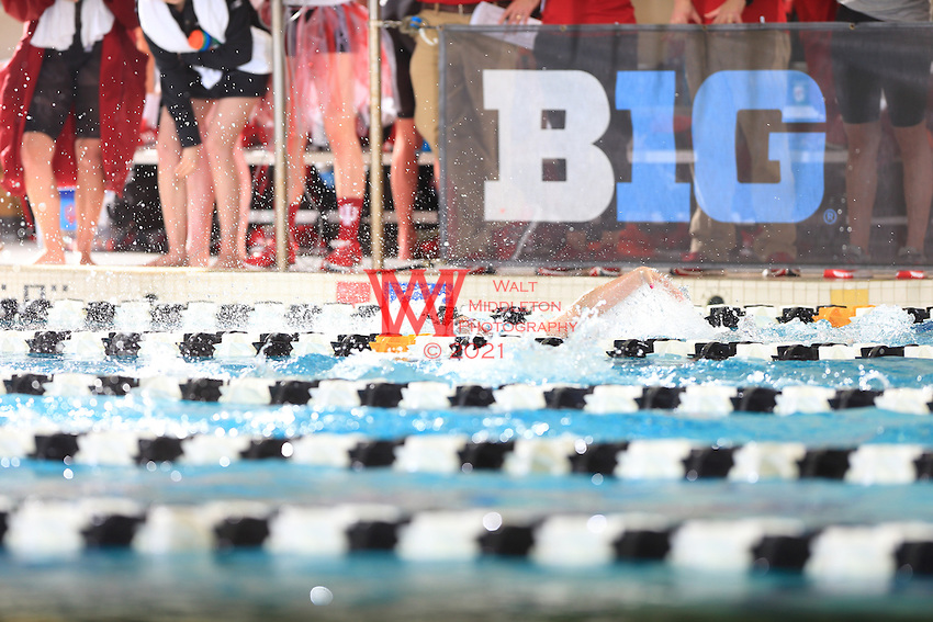 The Northwestern University women's swimming and diving team compete at the 2017 Women's Big Ten Championships at Purdue University. February 18, 2017.<br /> (Photo by Walt Middleton Photography 2017)
