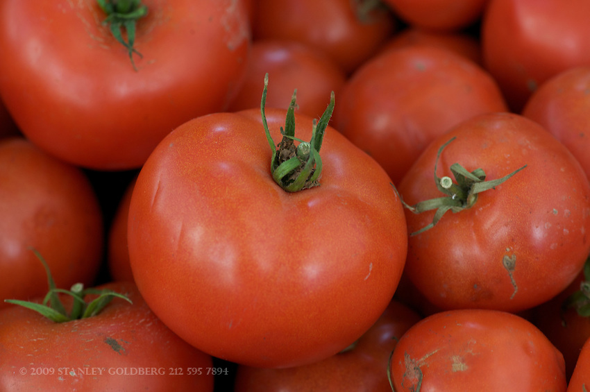 Spring and Summer bring fresh beefsteak tomatoes. New Jersey is well known for some of the best.