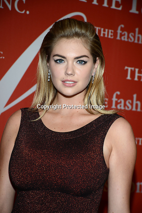 Kate Upton attends the Fashion Group International's Night of Stars Gala on October 22, 2013 at Cipriani Wall Street in New York City.
