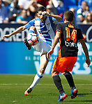 CD Leganes' Omar Ramos (l) and Valencia CF's Jose Luis Gaya during La Liga match. September 25,2016. (ALTERPHOTOS/Acero)
