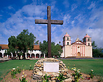 Santa Barbara Mission, the tenth mission founded in 1786, Santa Barbara, California