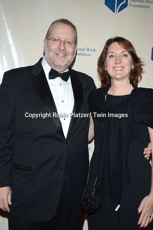attend the 2013 National Book Awards Dinner and Ceremony on November 20, 2013 at Cipriani Wall Street in New York City.