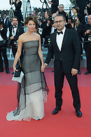 CANNES, FRANCE - MAY 17: Andrey Zvyagintsev with wife attends the screening of 'Capharnaum' during the 71st annual Cannes Film Festival at Palais des Festivals on May 17, 2018 in Cannes, France. <br /> <br /> Picture: Kristina Afanasyeva/Featureflash/SilverHub 0208 004 5359 sales@silverhubmedia.com