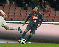 Gonzalo Higuain  during the Italian Serie A soccer match between   SSC Napoli and Atalanta  at San Paolo  Stadium in Naples ,March 22 , 2015<br /> <br /> <br /> incontro di calcio di Serie A   Napoli -Atalanta allo  Stadio San Paolo  di Napoli , 22  Marzo 2015