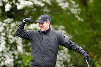 Anton Du Beke on the 6th tee during the Hero Pro-am at the Betfred British Masters, Hillside Golf Club, Lancashire, England. 08/05/2019.<br /> Picture David Kissman / Golffile.ie<br /> <br /> All photo usage must carry mandatory copyright credit (&copy; Golffile | David Kissman)