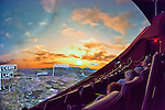 "Oct 4, 2012 - GARDEN CITY, NEW YORK U.S. - At the new JetBlue Sky Theater Planetarium at Cradle of Aviation Museum, Nassau County students watched ""We Are Astronomers"" a digital planetarium show, which included CERN's Large Hadron Collider LHC, a particle accelerator. The planetarium, a state-of-the-art digital projection system, officially opens this weekend."