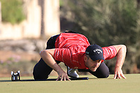 Stuart Manley (WAL) during round 2, Ras Al Khaimah Challenge Tour Grand Final played at Al Hamra Golf Club, Ras Al Khaimah, UAE. 01/11/2018<br /> Picture: Golffile | Phil Inglis<br /> <br /> All photo usage must carry mandatory copyright credit (&copy; Golffile | Phil Inglis)