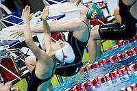 ATHERTON Minna AUS<br /> 50 Backstroke Women Semifinal New Junior World Record<br /> Day04 28/08/2015 - OCBC Aquatic Center<br /> V FINA World Junior Swimming Championships<br /> Singapore SIN  Aug. 25-30 2015 <br /> Photo A.Masini/Deepbluemedia/Insidefoto