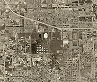 historical aerial photograph Torrance, Los Angeles County, California, 1963