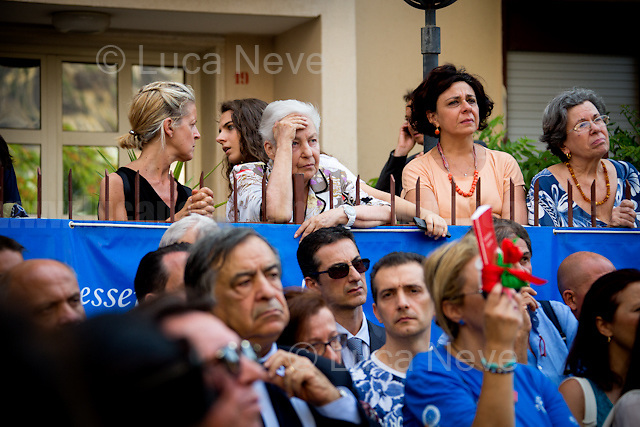 Rita Borsellino - Magistrate Paolo Borsellino's sister, Anti-Mafia activist, politician & former Member of the European Parliament (MEP) for the Democratic Party (PD) - https://en.wikipedia.org/wiki/Rita_Borsellino .<br />
