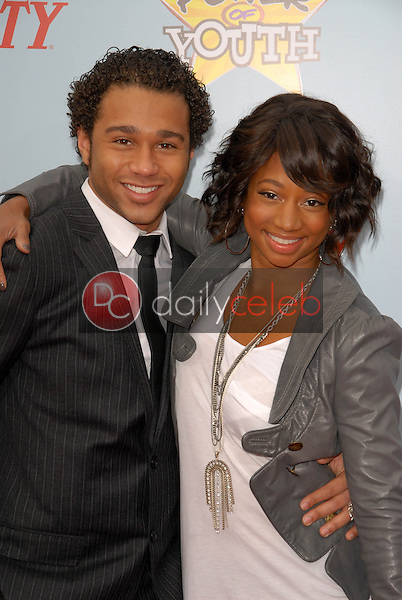 Corbin Bleu and Monique Coleman<br />